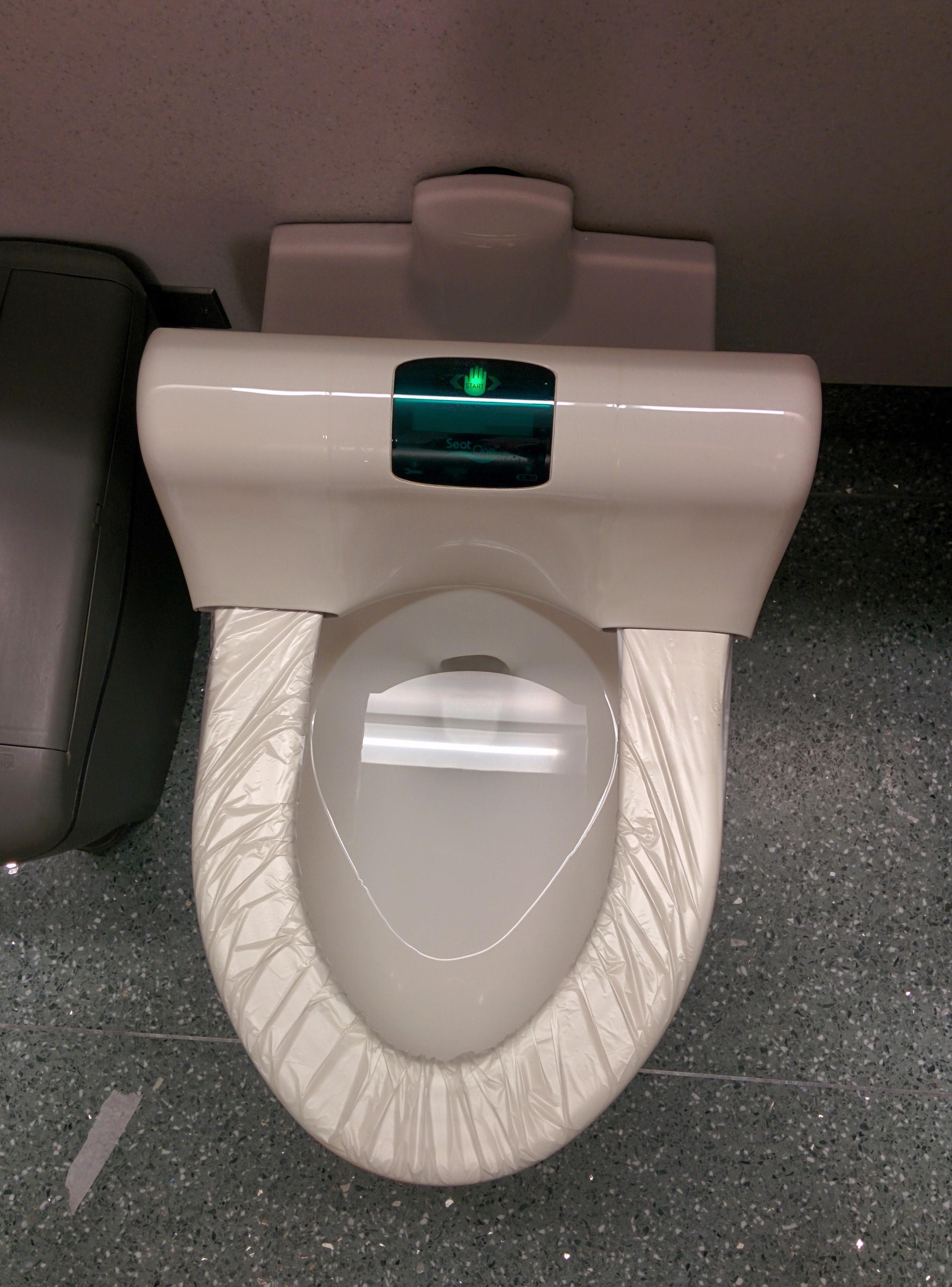 narita airport toilet